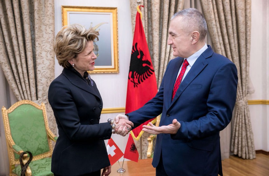 Albanian President: Switzerland is one of the biggest contributors