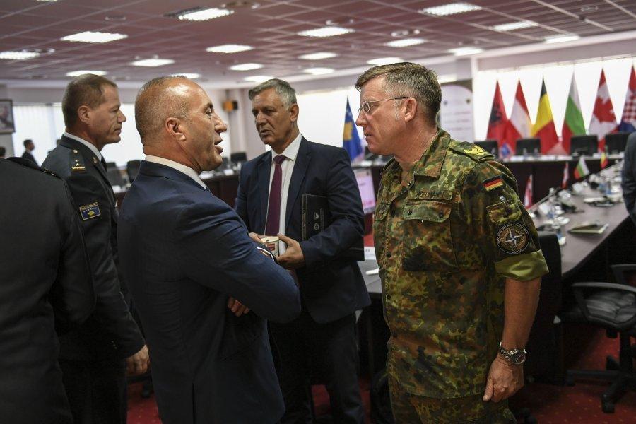 Kosovo  aspires NATO's  membership, Haradinaj says