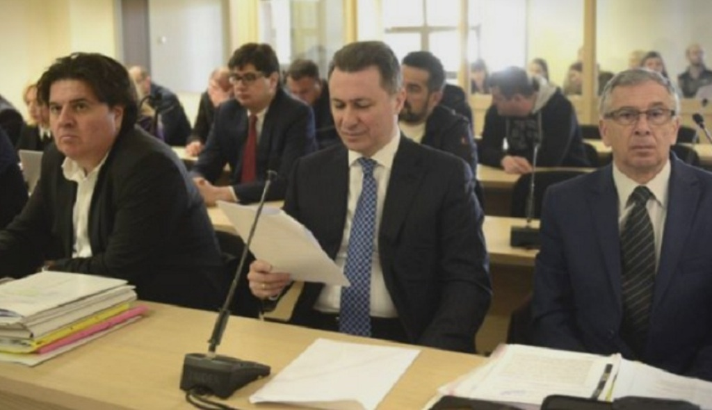 Gruevski to appear in court this week on three different cases