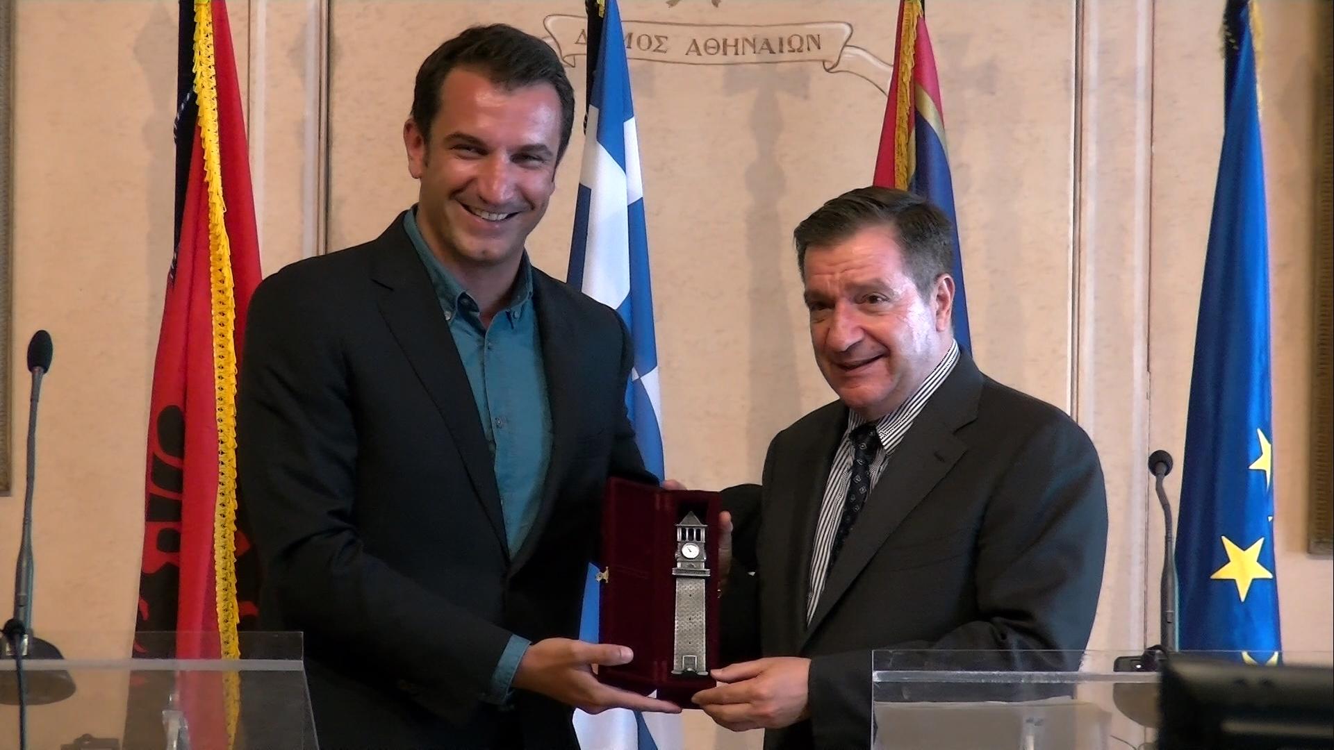 Veliaj-Kaminis: Cooperation between Tirana and Athens should be intensified