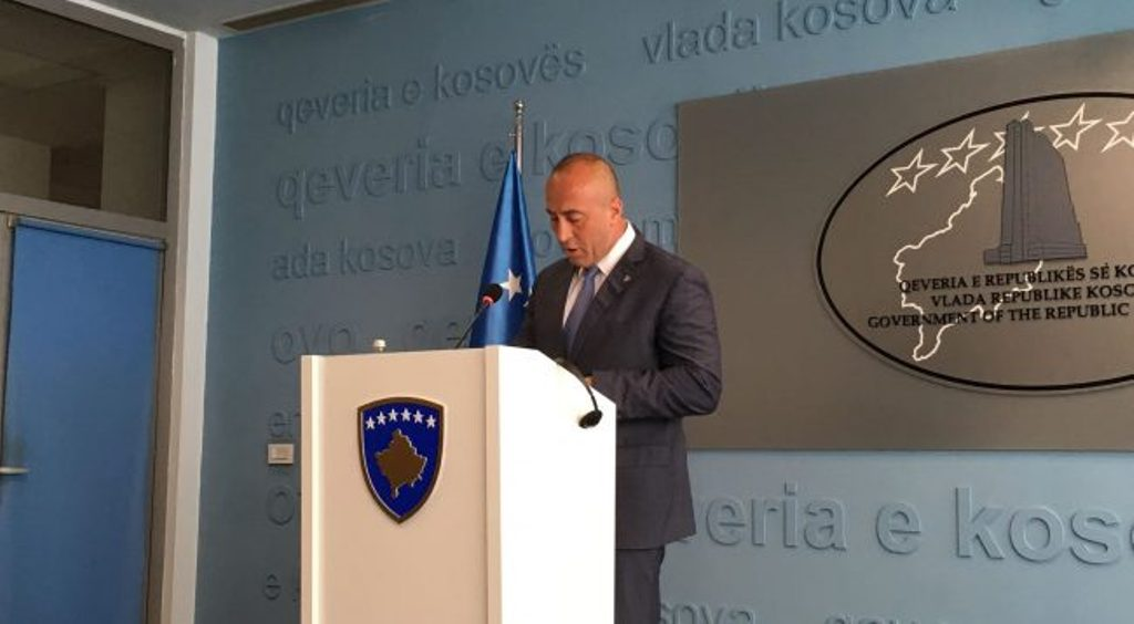 PM Haradinaj says that Belgrade's pressure is forcing Serbs to leave FSK