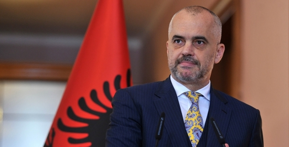 Albanian PM Rama promises fluid borders between Albania and Kosovo