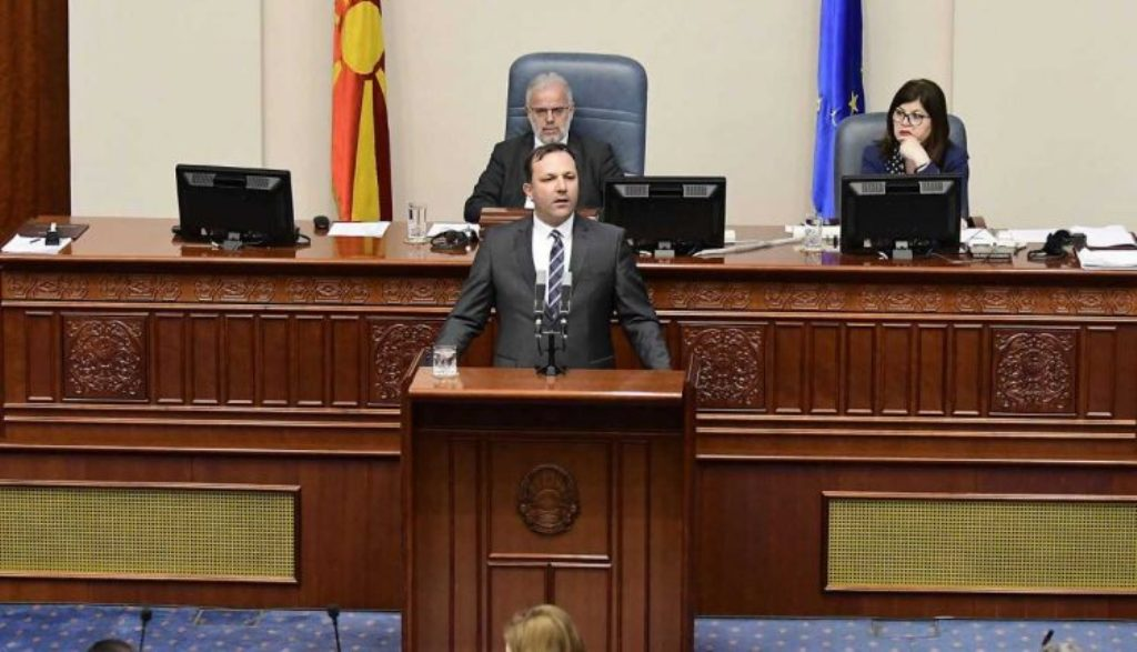 Nuk kaloi mocioni i mosbesimit ndaj ministrit të brendshëm Spasovski
