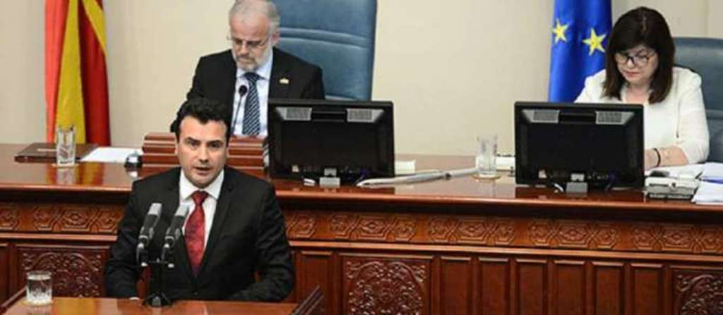 Zaev uroi Micotakisin, VMRO-DPMNE përcjellë një porosi