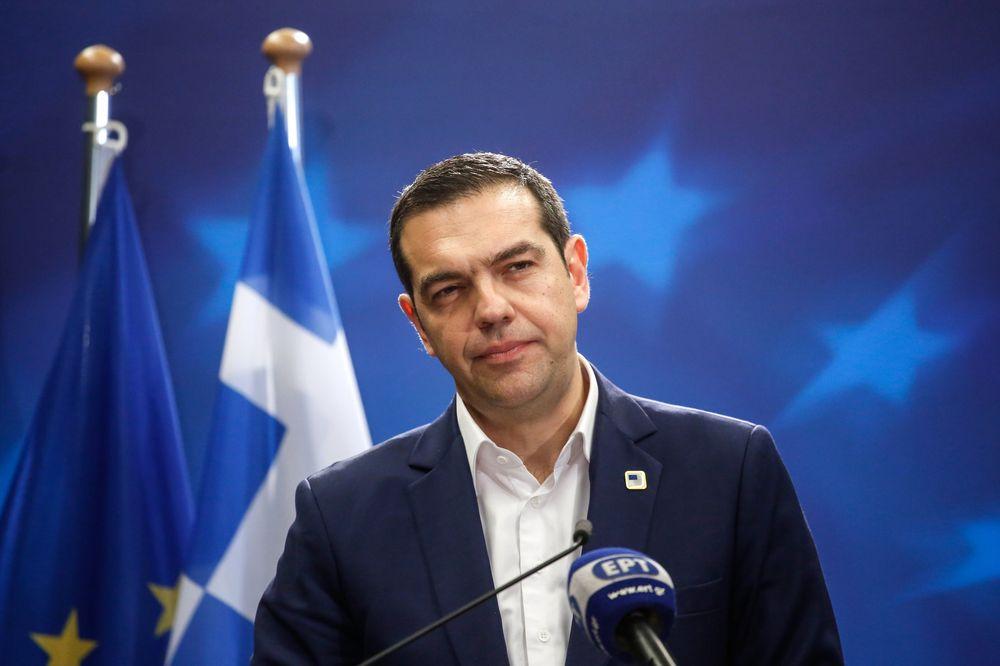 Kryeministri grek Cipras sot në Shkup, vizita historike