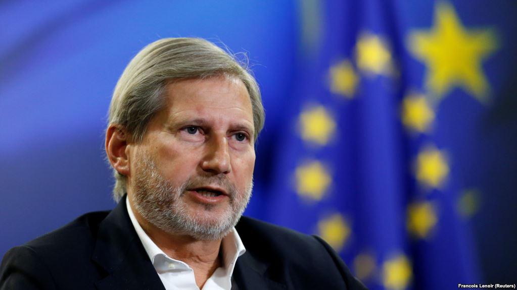 Deklarata e Hahn nxit reagime në reagime në Shkup