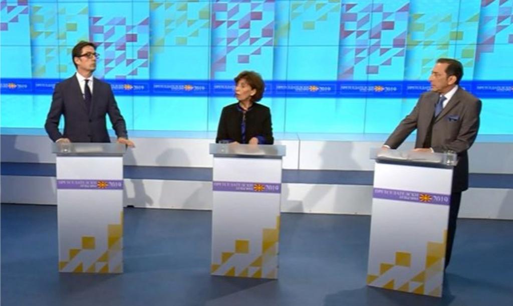 Debati i parë i kandidatëve për president, dallime për Marrëveshjen e Prespës