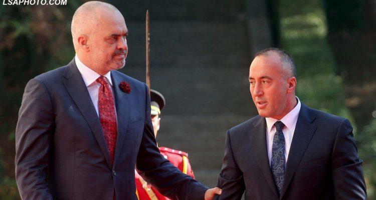 Edi Rama e Ramush Haradinaj përfshihen në polemika për Samitin e Berlinit