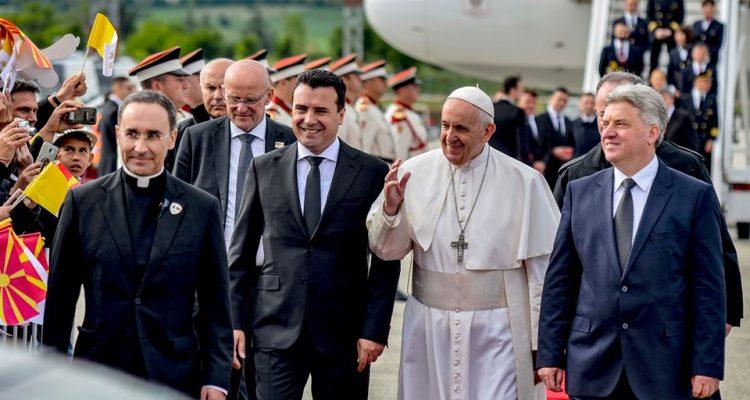 Papa Françesku në Shkup