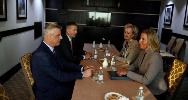 Thaçi e Mogherini diskutojnë për dialogun
