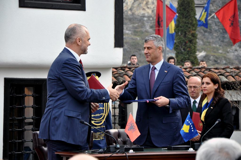Kosova dhe Shqipëria synojnë ta heqin kufirin ndërmjet dy vendeve