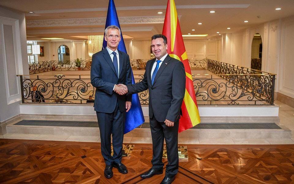 Stoltenberg-Zaev: anëtarësimi në NATO i rëndësishëm për Maqedoninë e Veriut dhe për të gjithë rajonin
