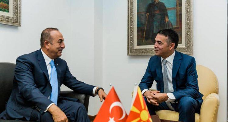 NATO dhe FETO në fokusin e vizitës së Cavusoglu në Shkup