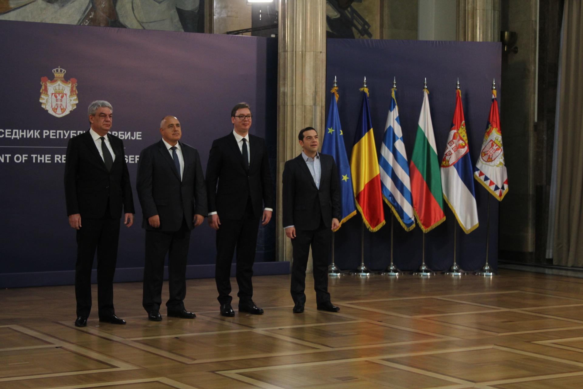 Με δείπνο εργασίας ξεκίνησε η 2η Σύνοδος Κορυφής Ελλάδας Σερβίας Βουλγαρίας Ρουμανίας.