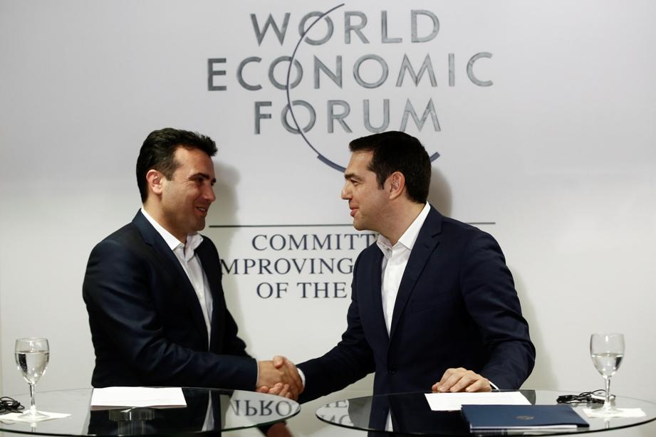 Επιχείρηση ενημέρωσης κοινής γνώμης μετά την συνάντηση Τσίπρα Zaev.