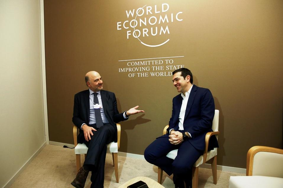Τσίπρας-Moscovici: Στόχος μας η επιστροφή της Ελλάδας στην κανονικότητα