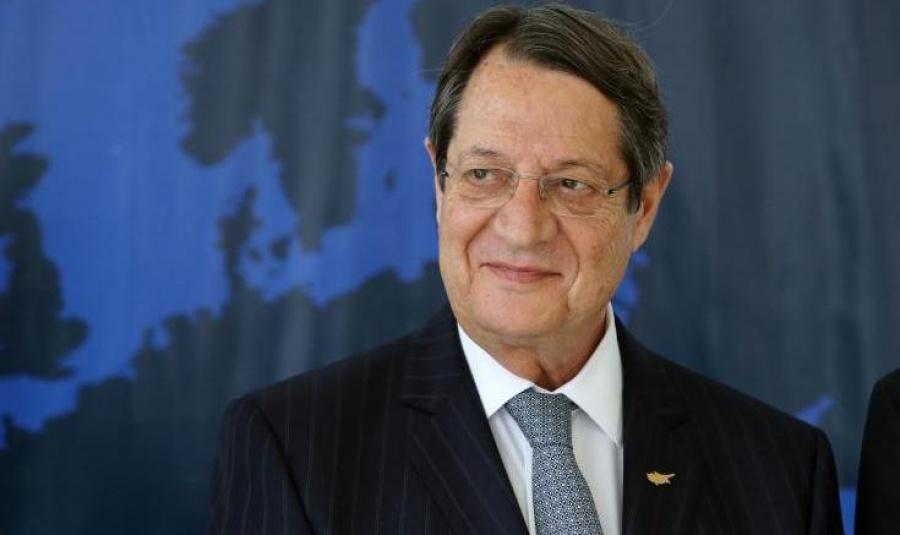 Στις εργασίες του Εκλογικού Συνεδρίου του ΕΛΚ συμμετέχει ο Αναστασιάδης