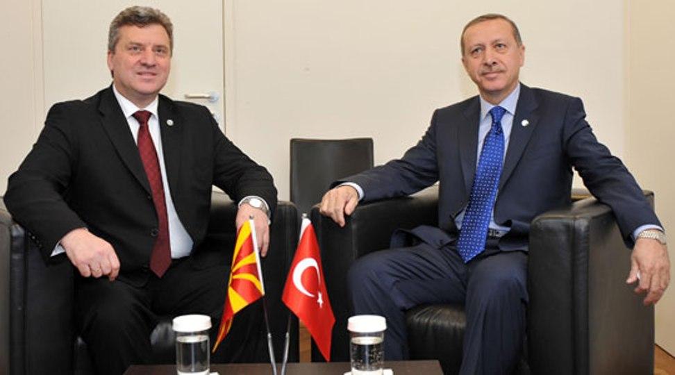 Επίσκεψη Gjorge Ivanov στην Τουρκία