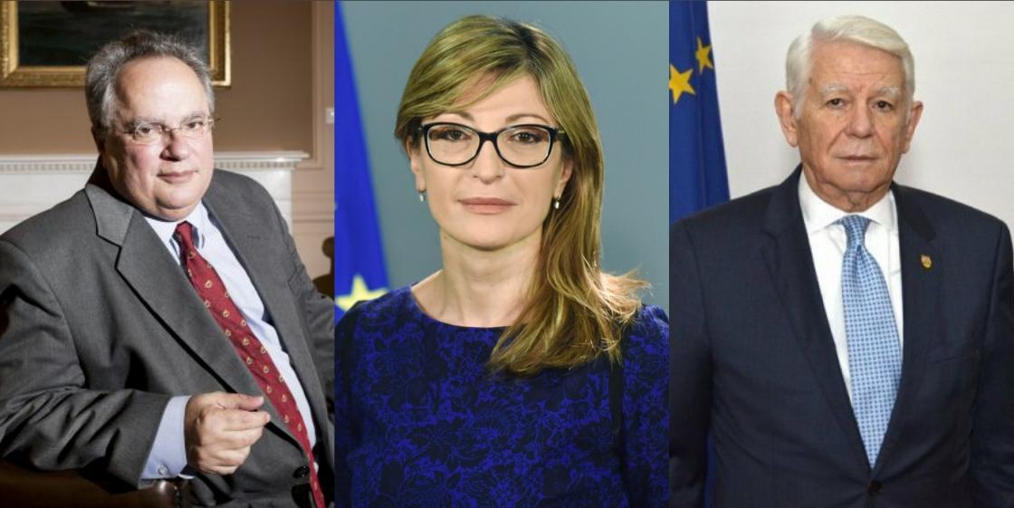 Τριμερής συνάντηση των ΥΠΕΞ Ελλάδας, Βουλγαρίας, Ρουμανίας στο Βουκουρέστι στις 12 Μαρτίου.