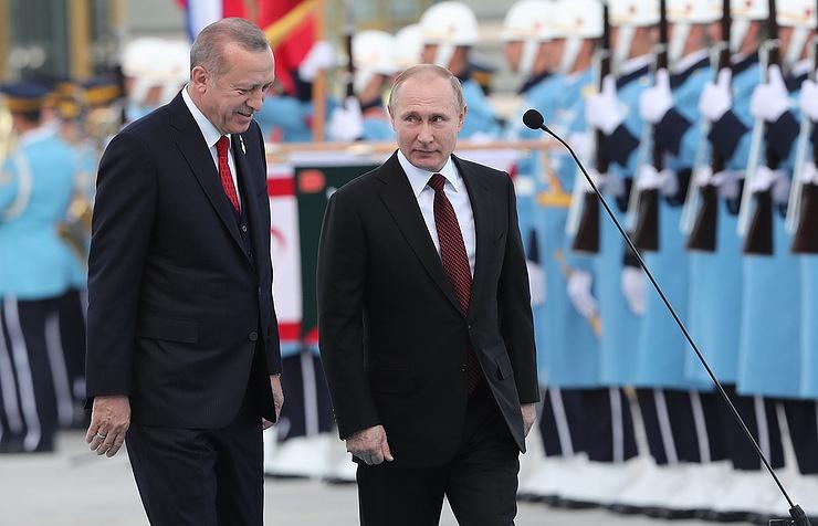 Ο Πούτιν παρόν στην έναρξη των εργασιών του πρώτου πυρηνικού εργοστασίου της Τουρκίας