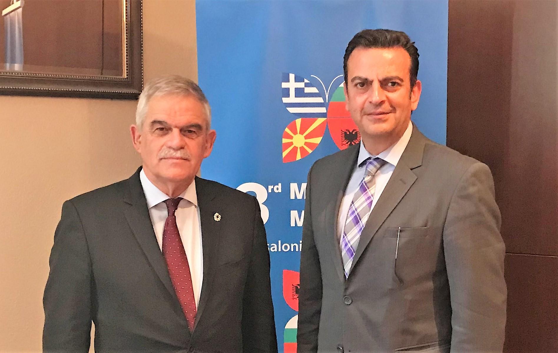 Συνέντευξη Ν. Τόσκα: Συνεργαζόμαστε διασφαλίζοντας ένα ειρηνικό περιβάλλον για την Ελλάδα.