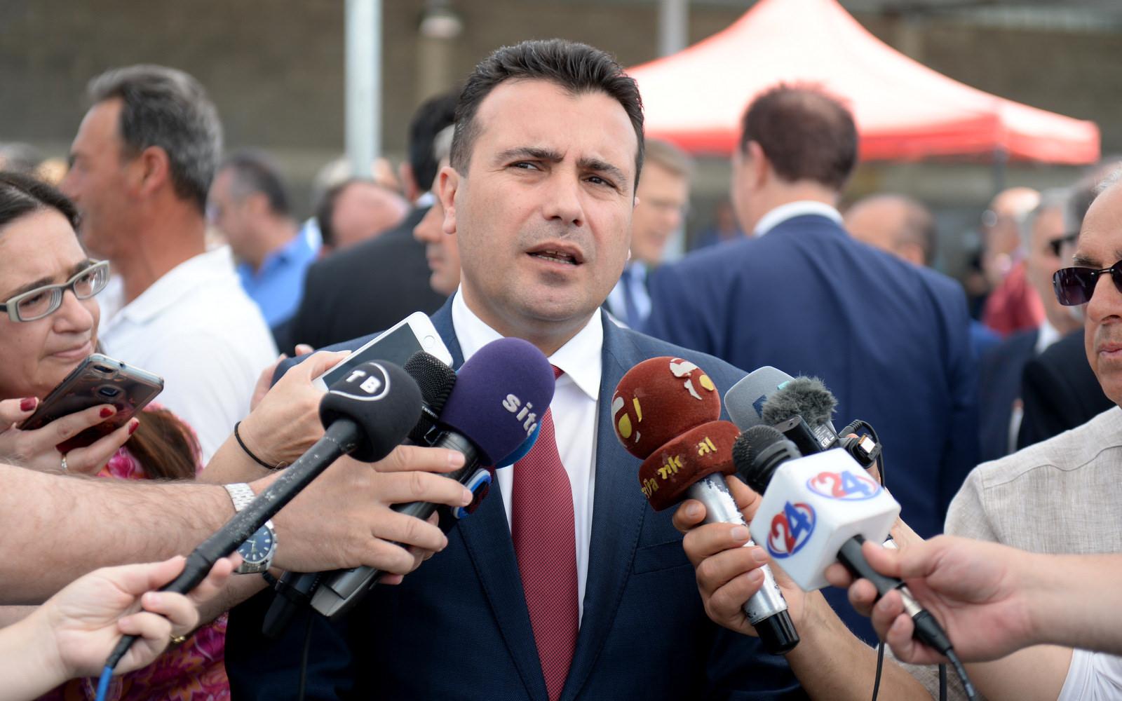 Λύση στο θέμα του ονόματος μέχρι τη Σύνοδο Κορυφής της ΕΕ προβλέπει ο Zaev