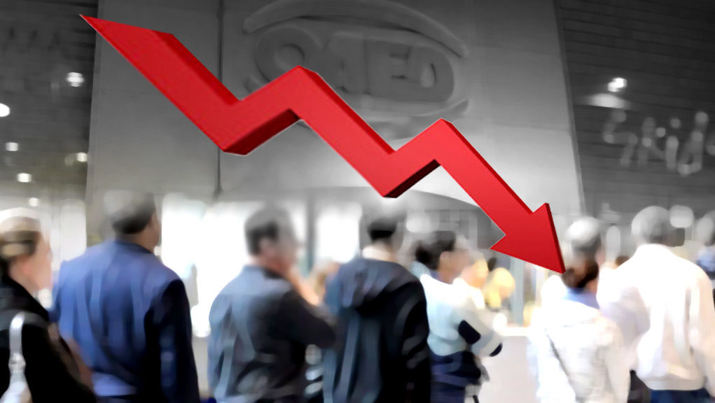 Υποχώρηση της ανεργίας κατά 2 μονάδες το Μάρτιο στην Ελλάδα
