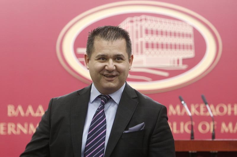 Bosnjakovski: Δεν υπάρχει διχασμός στην κυβέρνηση της πΓΔ της Μακεδονίας για το θέμα του ονόματος