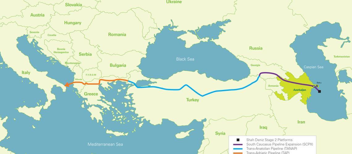 Η «αποδόμηση» του πιο φιλόδοξου έργου της Ε.Ε., του «Νότιου Διαδρόμου Φυσικού Αερίου»
