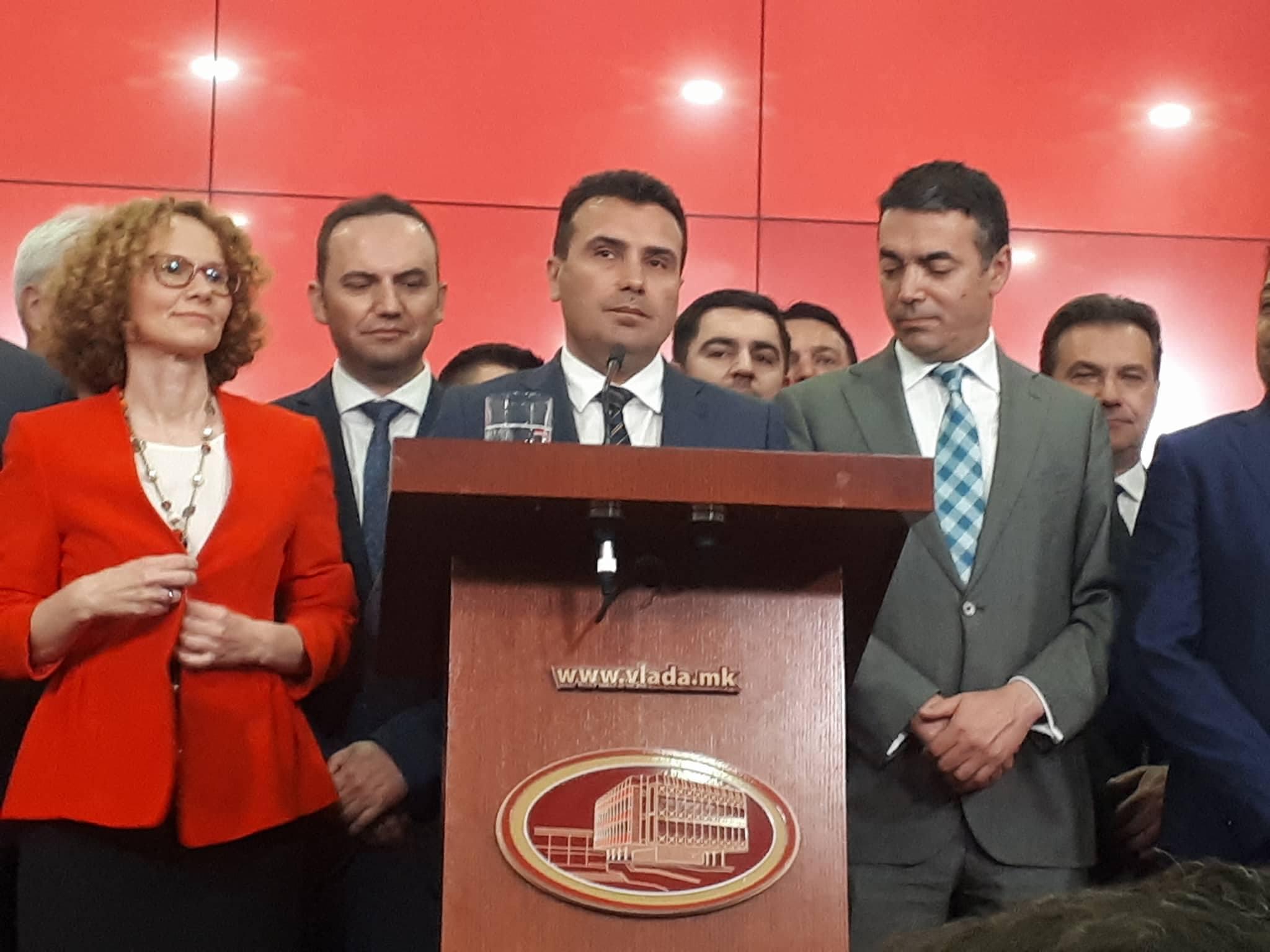 Zaev: Ενισχύεται η εθνική ταυτότητα των Μακεδόνων