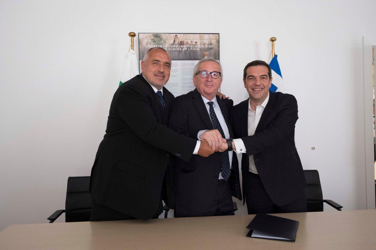 Τσίπρας και Borissov υπέγραψαν κοινή δήλωση για την κατασκευή του IGB