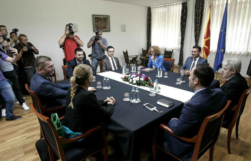 ΠΓΔΜ: Χωρίς αποτέλεσμα η σύσκεψη των πολιτικών αρχηγών για το δημοψήφισμα