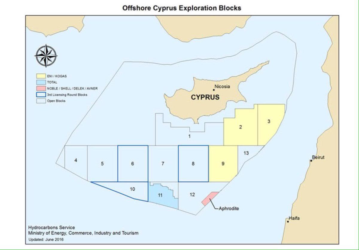 Πιάνουν δουλειά «προσεχώς» τα γεωτρύπανα της Εxxon Mobil στην Κύπρο