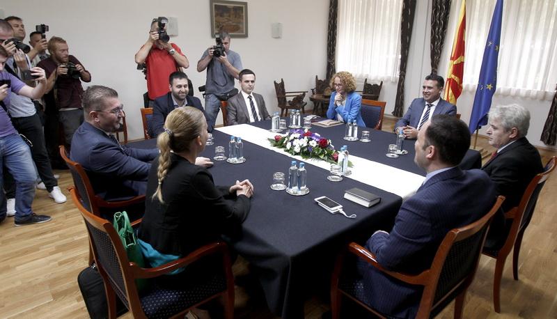 ΠΓΔΜ: Πρόοδος στη σύσκεψη των πολιτικών αρχηγών για το δημοψήφισμα