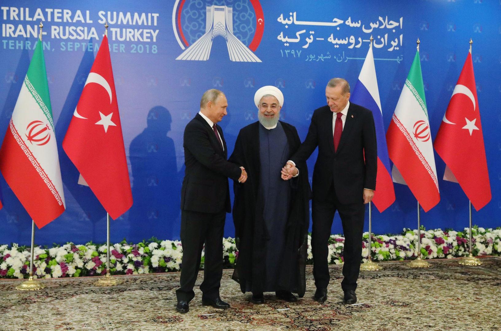 Έντονη διαφωνία Τουρκίας-Ιράν-Ρωσίας για το Συριακό