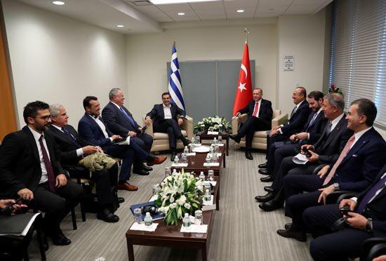 Η συνεργασία σε μια θετική ατζέντα κυριάρχησε στη συνάντηση Τσίπρα Erdogan