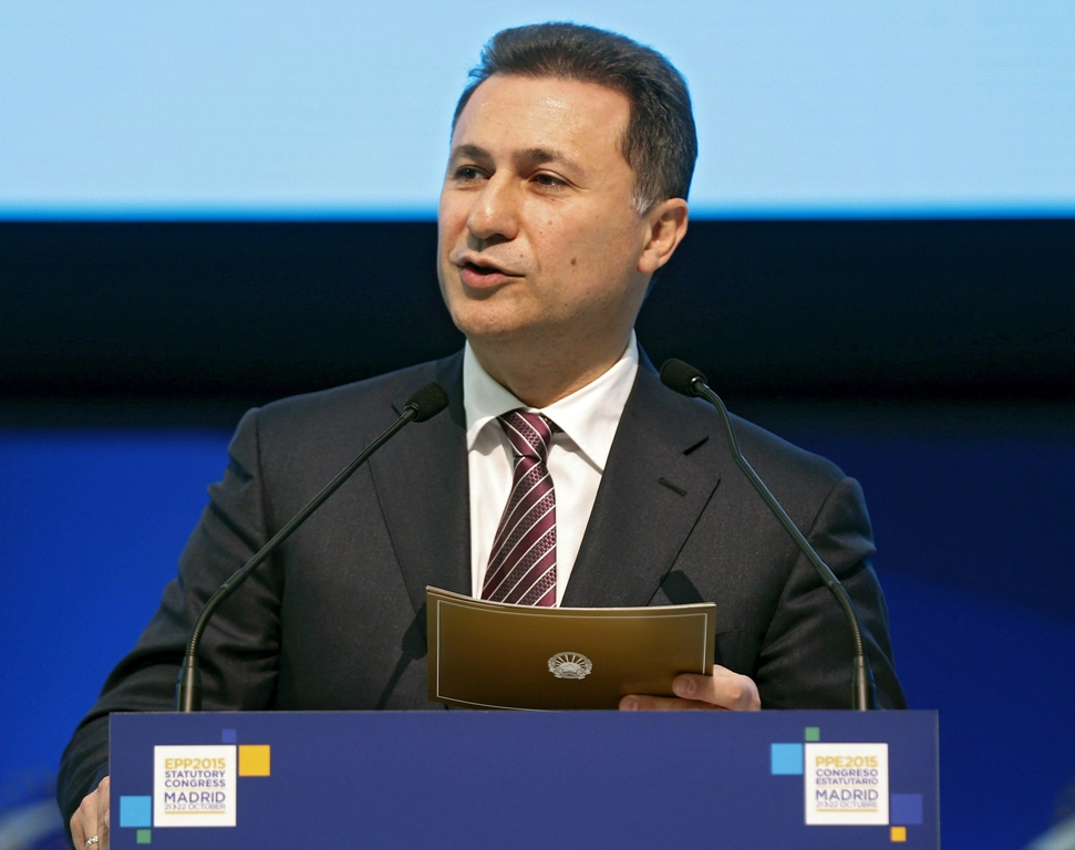 ΠΓΔΜ: Επιβεβαίωση της ποινής φυλάκισης του Nikola Gruevski στο Εφετείο