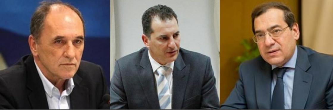 IBNA/ Υπουργοί Ενέργειας: Ενισχύεται η ενεργειακή συνεργασία Ελλάδας, Κύπρου Αιγύπτου.