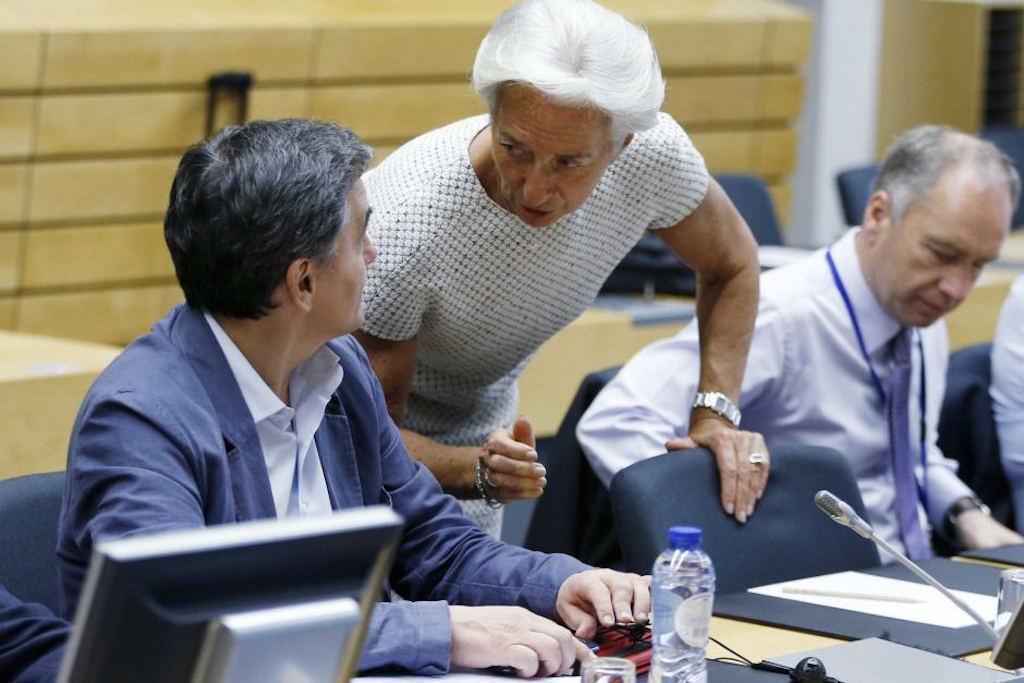Ο Τσακαλώτος, το ΔΝΤ και η Κομισιόν