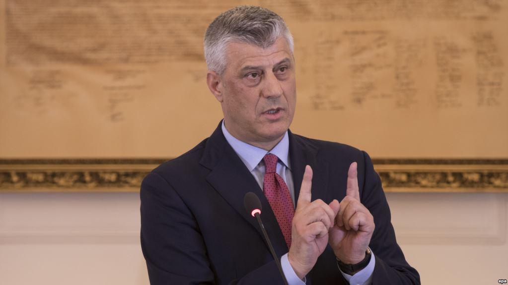 Hashim Thaci: Οι ΗΠΑ βρίσκονται πίσω από την ιδέα για αλλαγή συνόρων