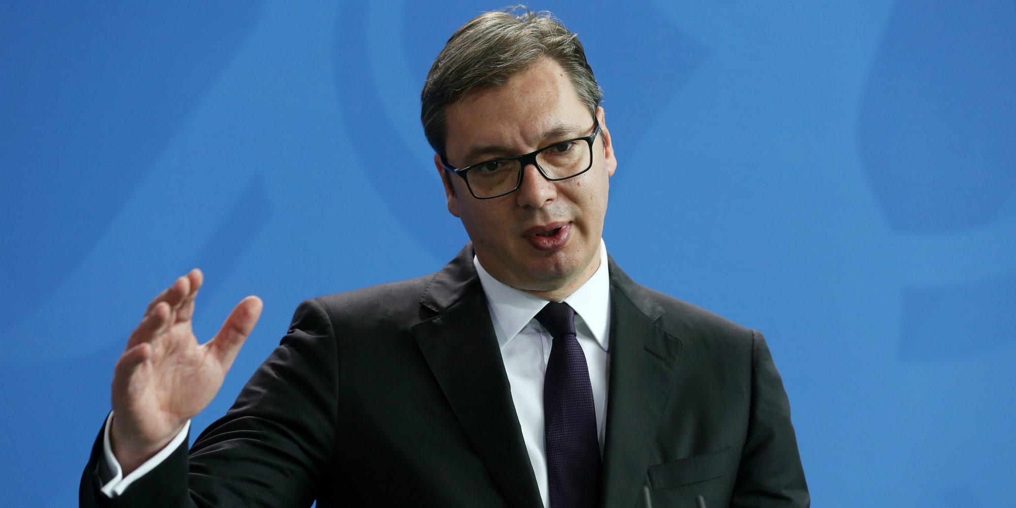 Vucic: Η ΕΕ είναι στρατηγικός στόχος της Σερβίας