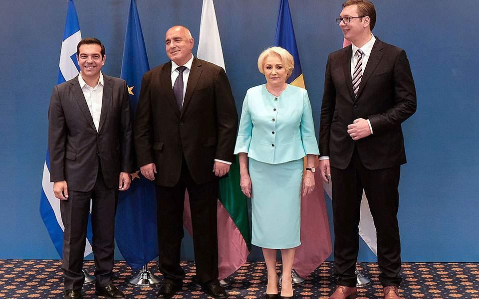 Στη Βάρνα η 5η Τετραμερής Σύνοδος Κορυφής Ελλάδας, Βουλγαρίας, Ρουμανίας Σερβίας.