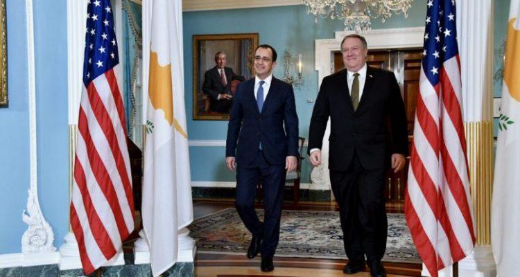 Κύπρος: Τηλεφωνική επικοινωνία Χριστοδουλίδη-Pompeo
