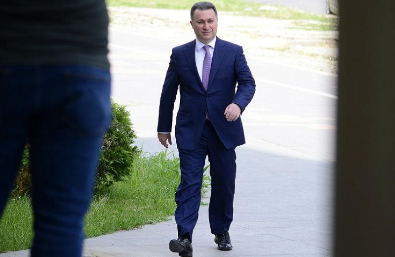 ΠΓΔΜ: Άρση της βουλευτικής ασυλίας του Gruevski αποφάσισε το Κοινοβούλιο.