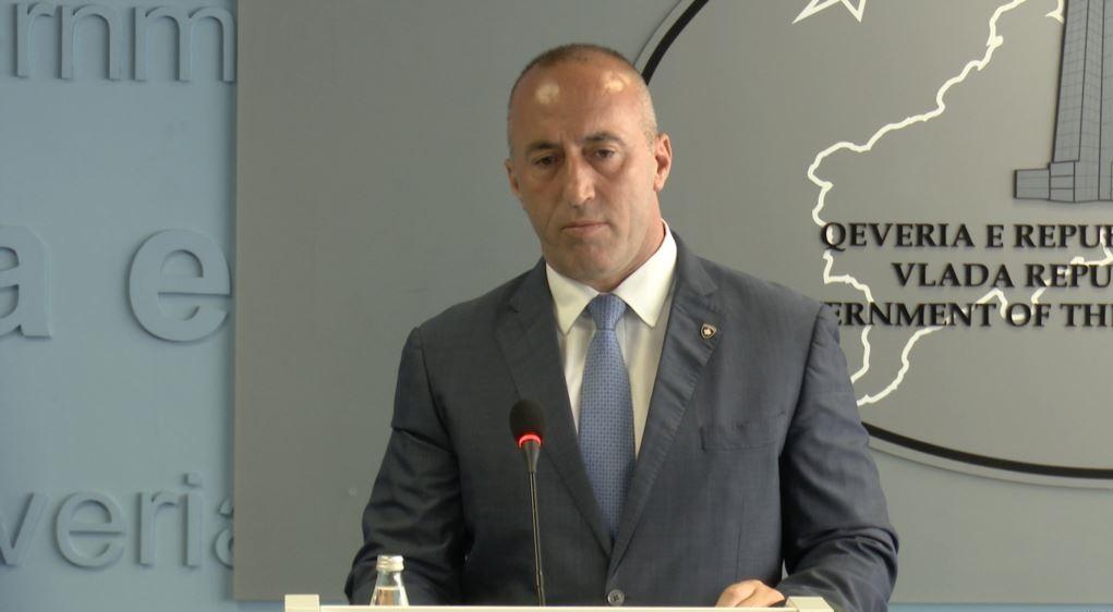 Haradinaj: Οι δασμοί θα παραμείνουν μέχρι η Σερβία να αναγνωρίσει το Κοσσυφοπέδιο.