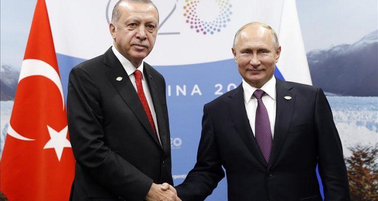 Τουρκία: Επικοινωνία Erdogan-Putin για Αζερμπαϊτζάν-Αρμενία, Συρία και Λιβύη
