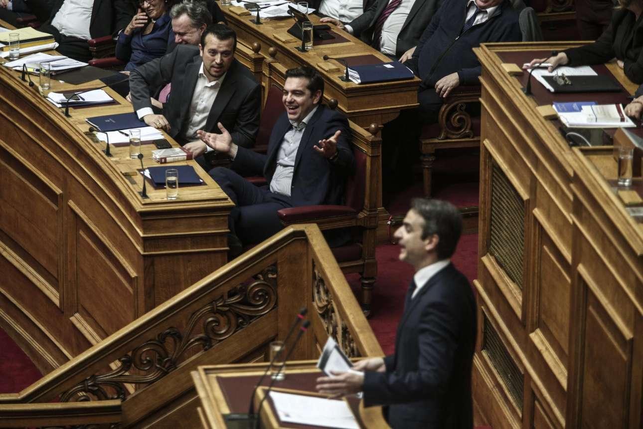 Τσίπρας- Μητσσοτάκης διασταύρωσαν τα ξίφη τους για την Συμφωνία των Πρεσπών