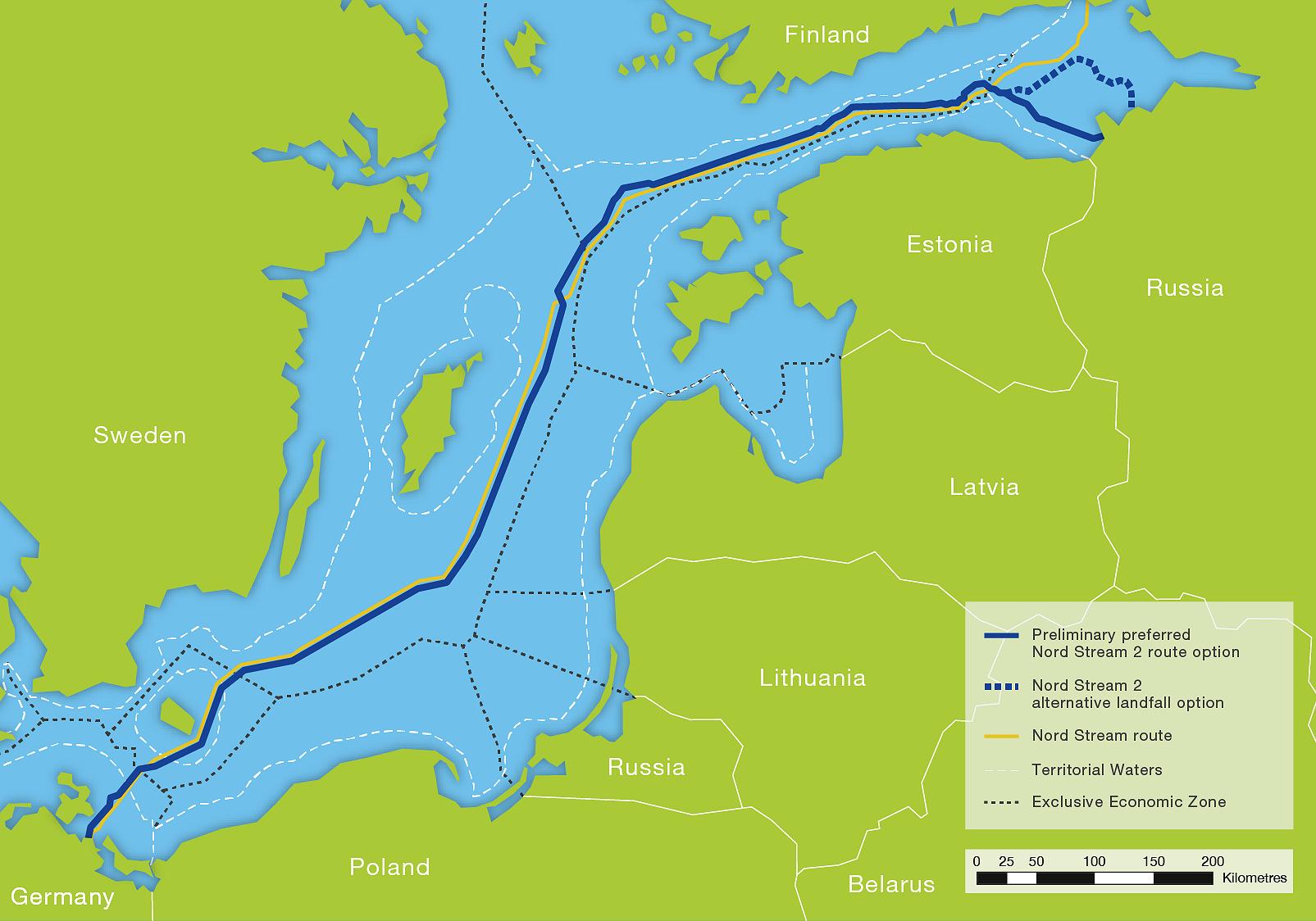 Διπλωματικός «πόλεμος» για τον αγωγό Nord Stream