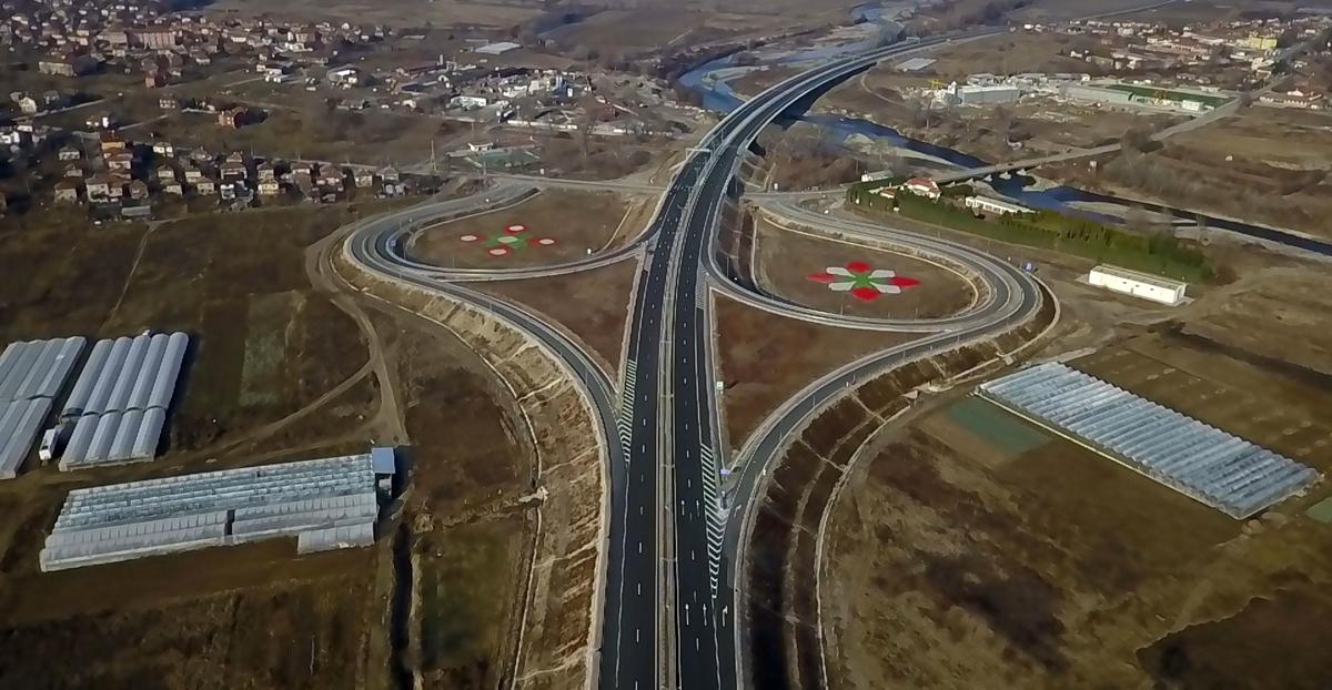 Η Βουλγαρία ανοίγει νέο τμήμα 24 χλμ. του αυτοκινητοδρόμου Struma