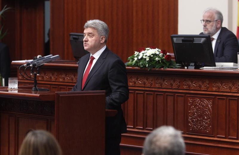 ΠΓΔΜ: Ο Gjorge Ivanov κάλεσε τους βουλευτές του κυβερνητικού συνασπισμού να απορρίψουν τη Συμφωνία των Πρεσπών